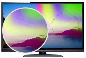 tivi bị nhiễm từ